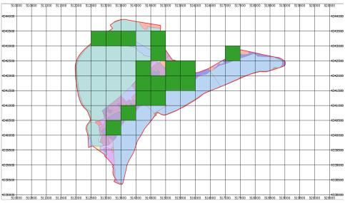 Mappa raganella tirrenica